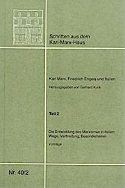 Karl Marx, Friedrich Engels und Italien.