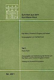 Karl Marx, Friedrich Engels und Italien