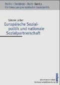 Europäische Sozialpolitik und nationale Sozialpartnerschaft;