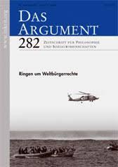 Das Argument, Band 282, Heft 3 / 2009, Zeitschrift für Philosophie und Sozialwissenschaften