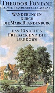 Wanderungen durch die Mark Brandenburg, 8 Bde., Bd.7, Das Ländchen Friesack und die Bredows