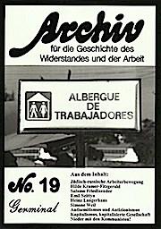 Archiv für die Geschichte des Widerstandes und der Arbeit / Archiv für die Geschichte des Widerstandes und der Arbeit
